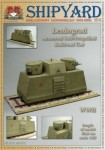 Leningrad Armored Self-Propelled Railroad Car, Vessel Sipyard Nr 43