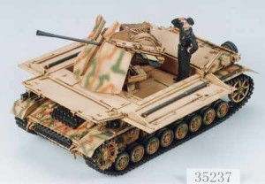 German Self Propelled Mobelwagen 3.7cm PZ.KPFWIV, Tamiya 35237