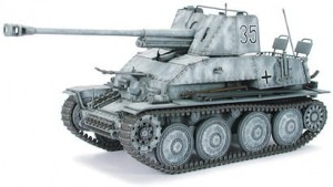 German Tank Destroyer Marder III, Tamiya 35248