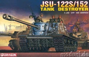 JSU-122S / 152 Tank Destroyer, Dragon 6047