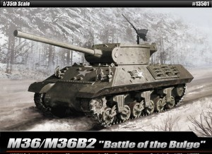 M36/M36B2 Jackson - Battle of the Bulge, Academy 13501