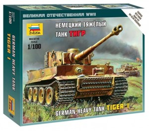 Tiger I German Heavy Tank, Zvezda 6256