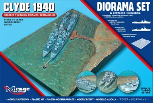 Diorama Clyde 1940, Mirage Hobby 401002