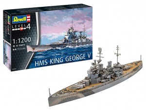 HMS King George V, Revell 05161