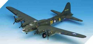 B-17 F Flying Fortress Memphis Belle, Academy 12495