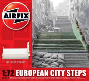 European City Steps - żywica, Airfix 75017