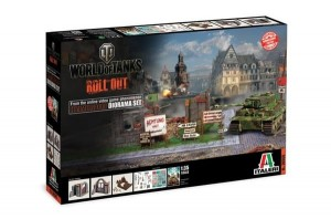 World of Tanks - Himmelsdorf, Diorama, Italeri 36505