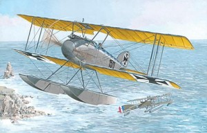 Albatros W-4 late, Roden 034