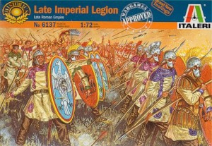 Late Imperial Legion - Late Roman Empire, Italeri 6137