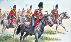 "British Heavy Cavalry ""Scot Greys"" - Napoleonic Wars, Italeri 6001"