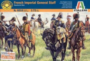 French Imperial General Staff - Napoleonic wars 1815, Italeri 6016