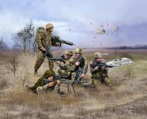 German Paratroops - modern, Revell 02521