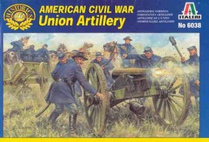 American Civil War - Union Artillery, Italeri 6038