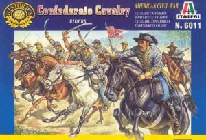Confederate Cavalry-Riders - American civil war, Italeri 6011