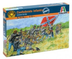 Confederate Infantry - American Civil War, Italeri 6178