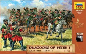 Dragoons of Peter the Great, Zvezda 8072