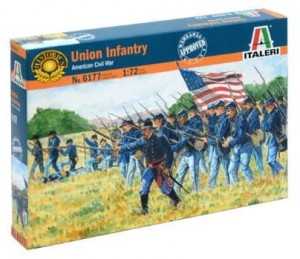 Union Infantry - American Civil War, Italeri 6177