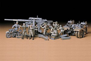 German 88mm Gun Flak36/37, Tamiya 35017