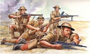 WWII British 8th Army, Italeri 6077