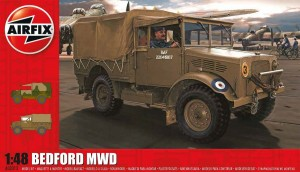 Bedford MWD Light Truck, Airfix 03313
