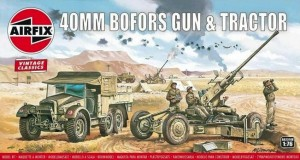 Bofors Gun & Tractor - Vintage Classic, Airfix 02314v