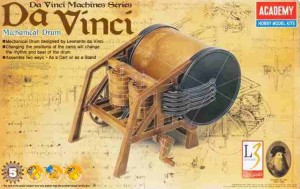 Da Vinci Mechanical Drum, Academy 18138