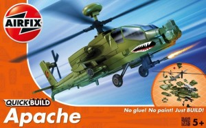 QUICK BUILD - Apache Helicopter, Airfix J6004