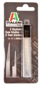 2 Key Hole + 2 Saw Blades, Italeri 50823