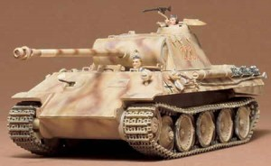 German Panther Ausf A Medium Tank, Tamiya 35065