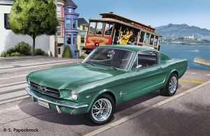1965 Ford Mustang 2+2 Fastback, Revell 07065