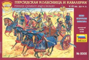 Persian Chariot and Cavalry, Zvezda 8008