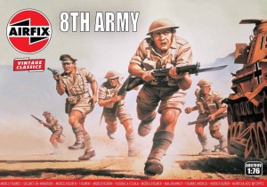 WWII British 8th Army - Vintage Classics, Airfix 00709v
