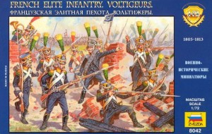 French Elite Infantry Voltigeurs, Zvezda 8042