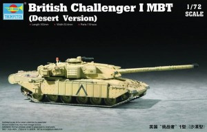 British Challenger I MBT (Desert Version), Trumpeter 07105