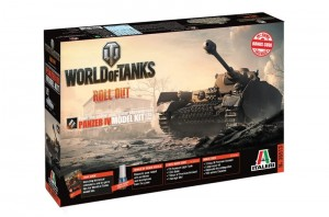 World of Tanks - Panzer IV, Italeri 36513
