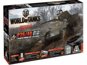 World of Tanks - P26/40 Limited Edition, Italeri 36515