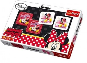 Memos - Minnie Mouse, Trefl 00738