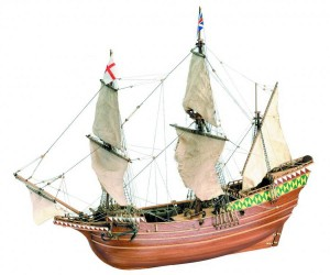 Galeon Mayflower 1620, Artesania Latina 22451