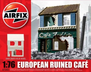 European Ruined Café - żywica, Airfix 75002