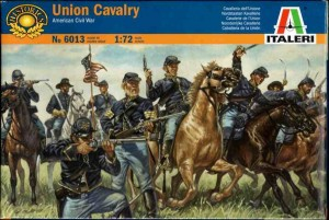 American Civil War - Union Cavalry (The Blue Jackets), Italeri 6013