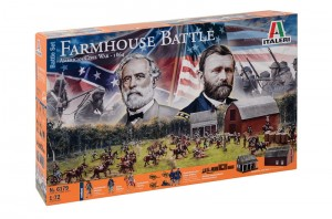 Farmhouse Battle - American Civil War 1864 - Battle Set, Italeri 6179