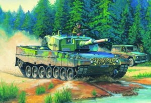 German Leopard 2 A4 tank, Hobby Boss 82401