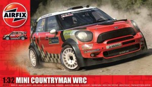 Mini Countryman WRC, Airfix 03414