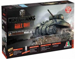World of Tanks - M4 Sherman, Italeri 36503