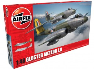 Gloster Meteor F8, Airfix 09182