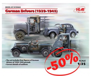 German Drivers (1939-1945), ICM 35642