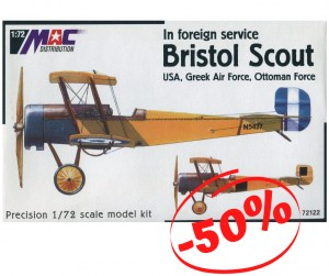 Bristol Scout USA, Greek Air Force Ottoman Force, Mac 72122