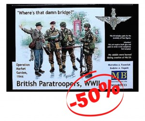 British Paratroopers WWII, MB 3533