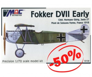 Fokker DVII Early, Mac 72130