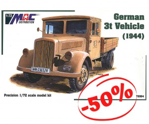German 3t Vehicle (1944), Mac 72064